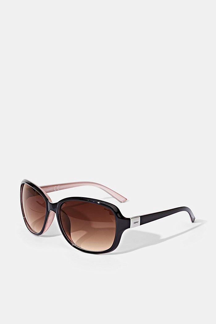 Sunglasses with a timeless design, BROWN, detail image number 3