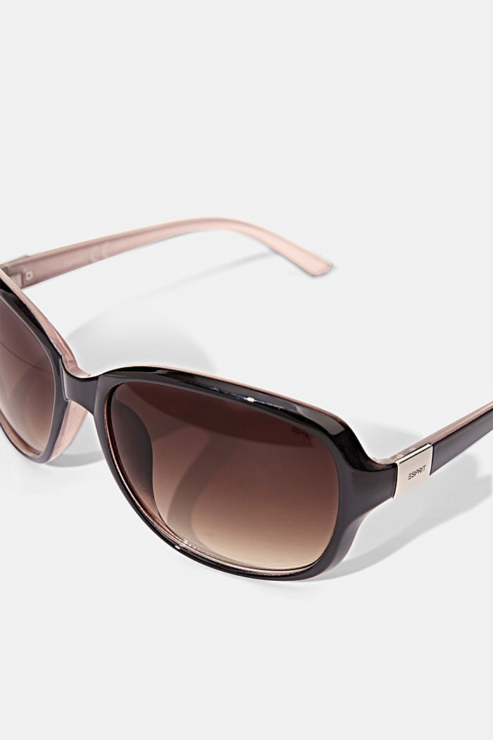Sunglasses with a timeless design, BROWN, detail image number 1