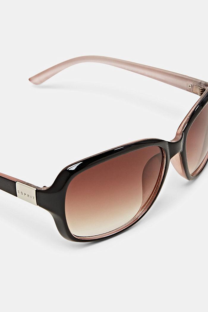 Sonnenbrille mit zeitlosem Design, BROWN, detail image number 1