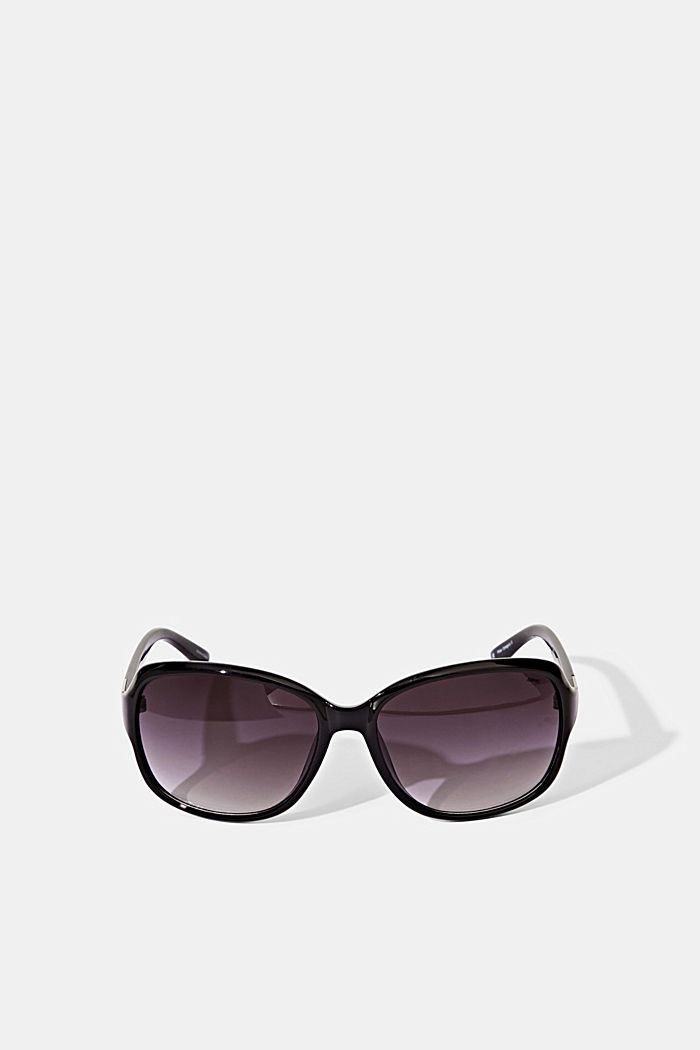 Sunglasses with a timeless design, BLACK, detail image number 0