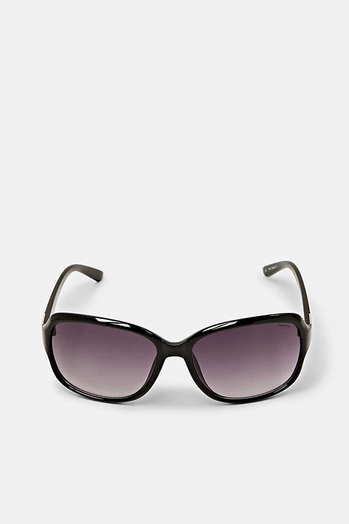 Sonnenbrille mit zeitlosem Design, BLACK, detail image number 0