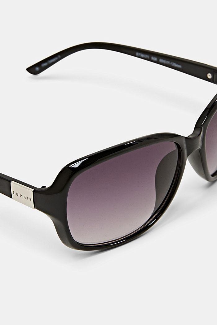 Sonnenbrille mit zeitlosem Design, BLACK, detail image number 1