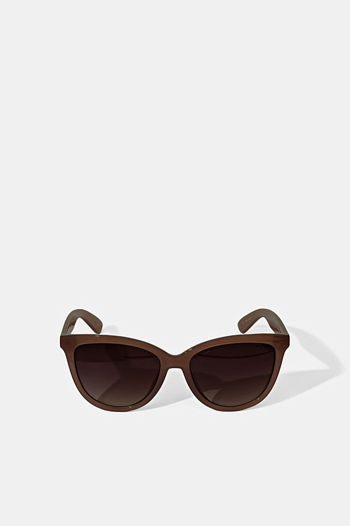 Harmonious sunglasses in a cat-eye design, BEIGE, detail image number 0