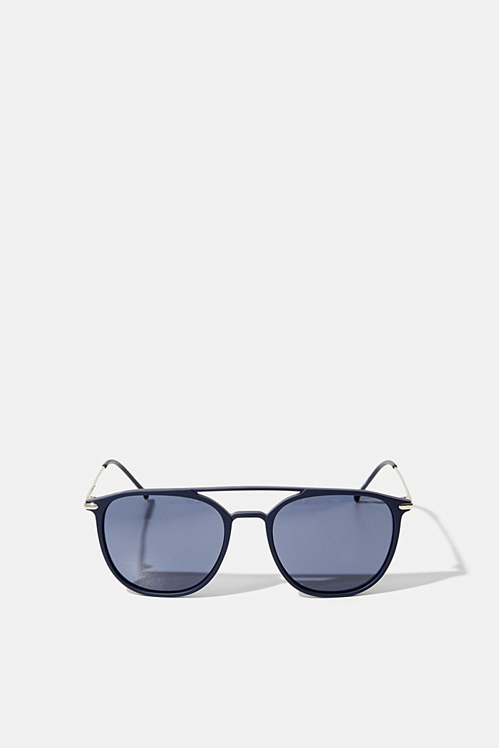 Sunglasses with a timeless design, NAVY BLUE, detail image number 0