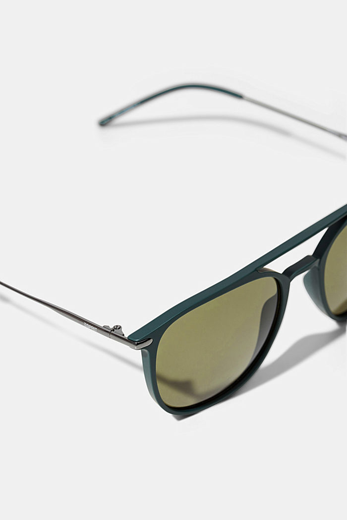 Sunglasses with a timeless design, OLIVE GREEN, detail image number 1