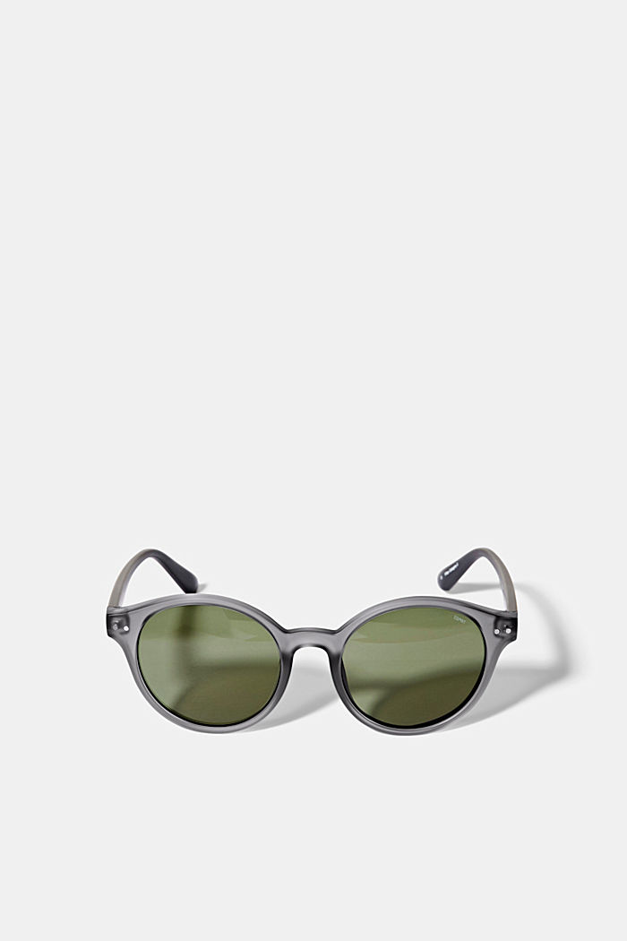 Sunglasses with round lenses, GRAY, detail image number 0