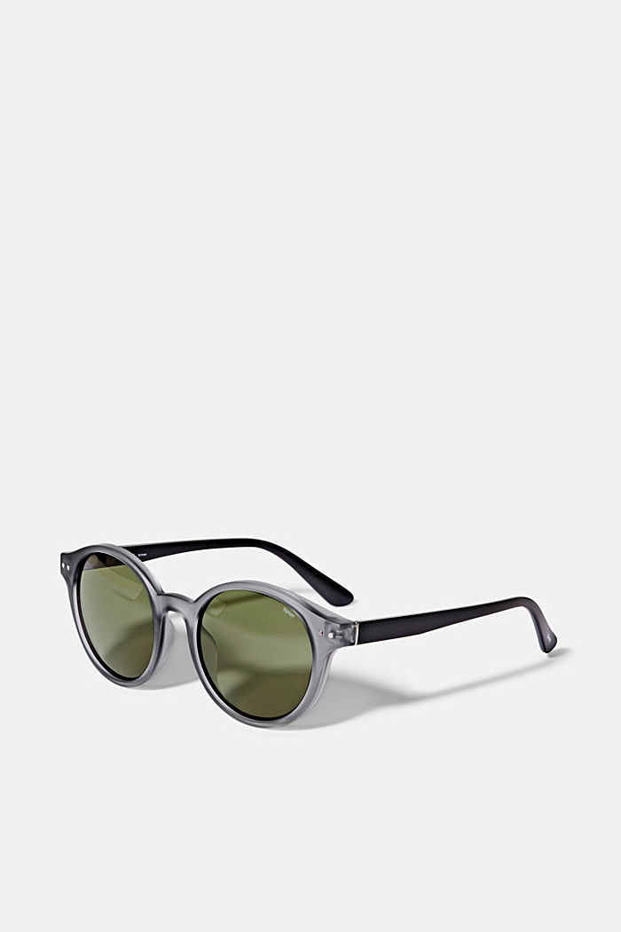 Sunglasses with round lenses, GRAY, detail image number 3