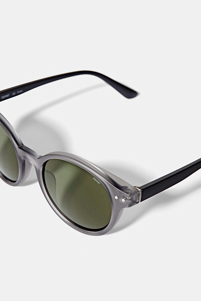 Sunglasses with round lenses, GRAY, detail image number 1