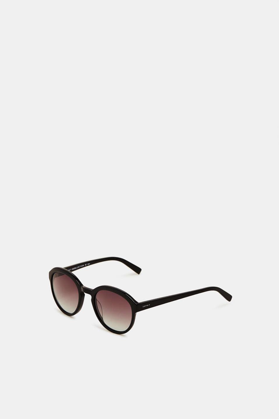 100% biodegradable sunglasses, BLACK, detail image number 1
