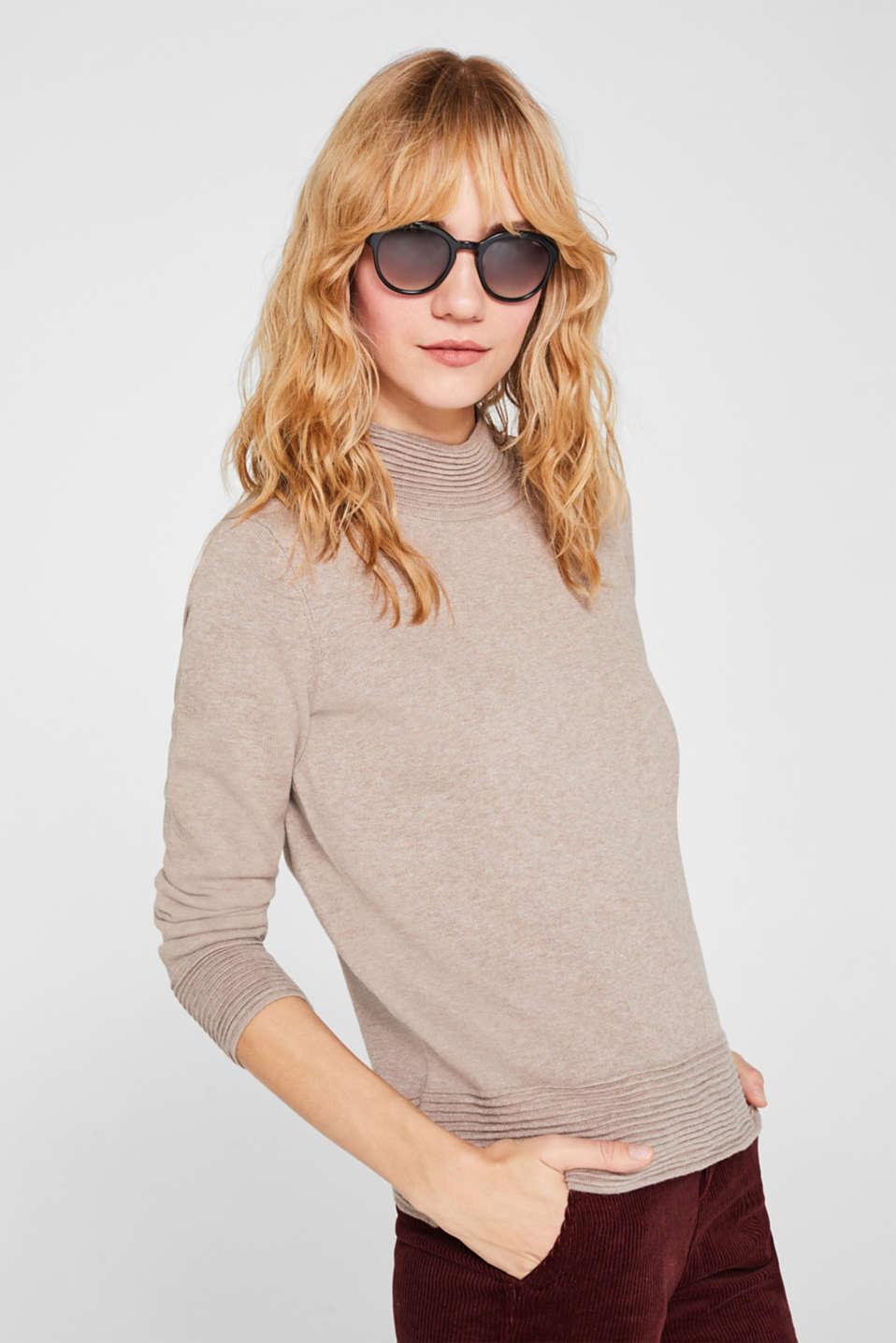 100% biodegradable sunglasses, BLACK, detail image number 2