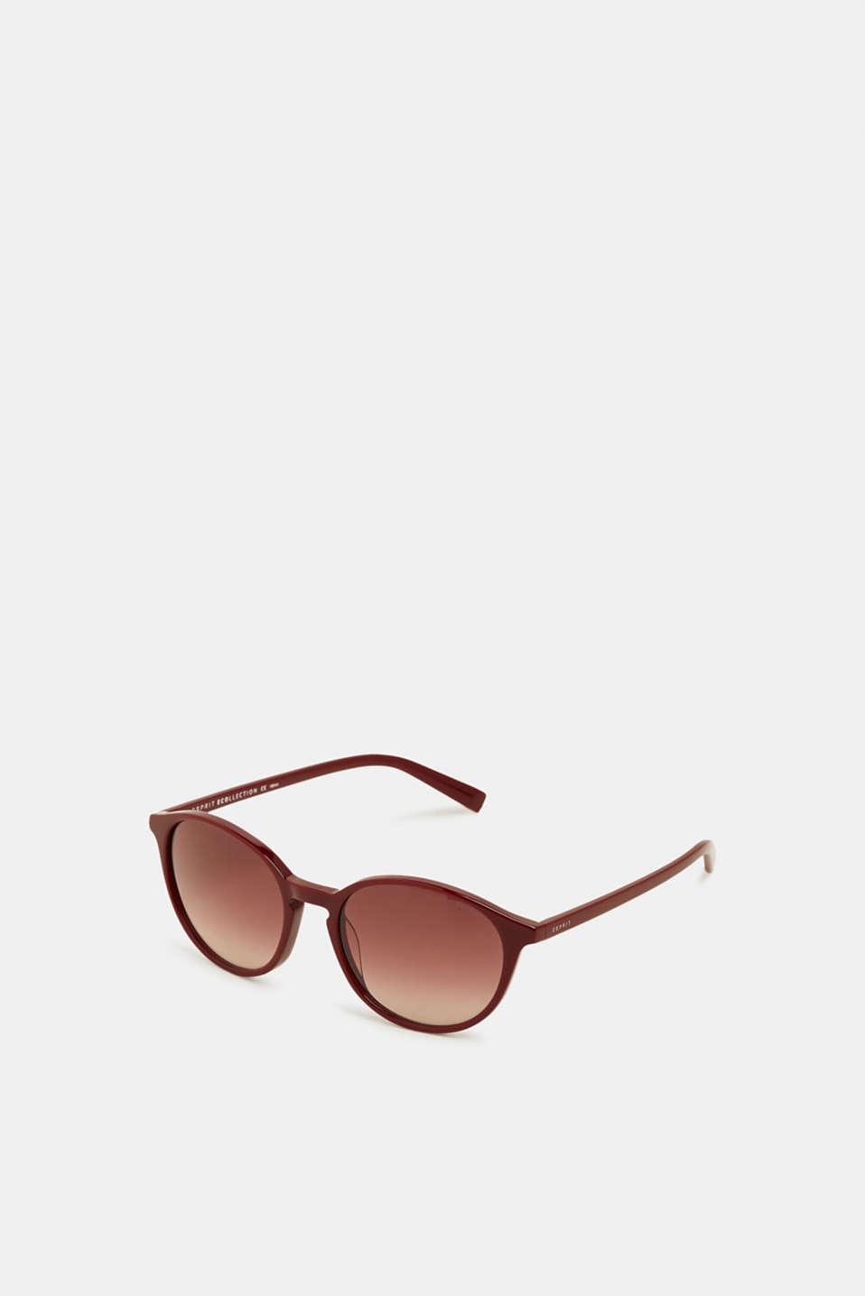 100% biodegradable sunglasses, RED, detail image number 0