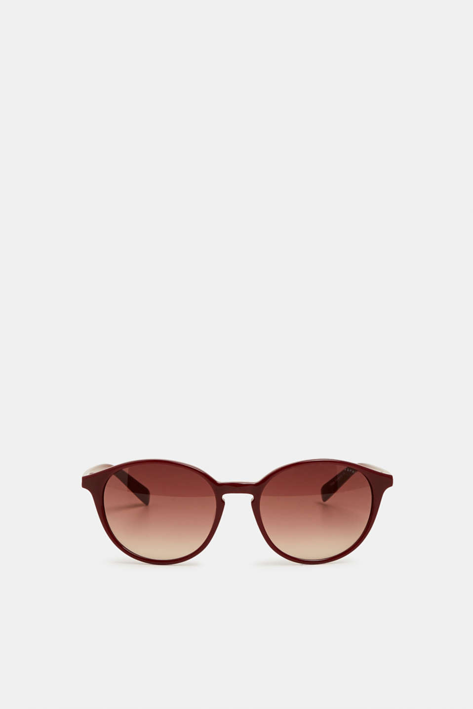 100% biodegradable sunglasses, RED, detail image number 1