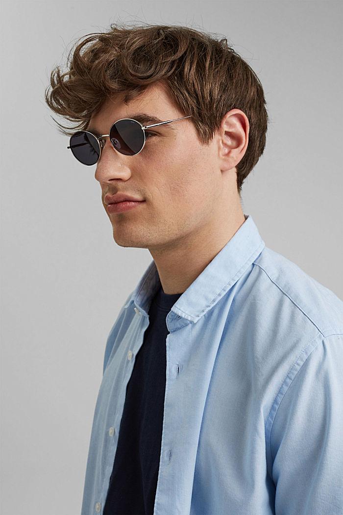 Panto-style, unisex sunglasses