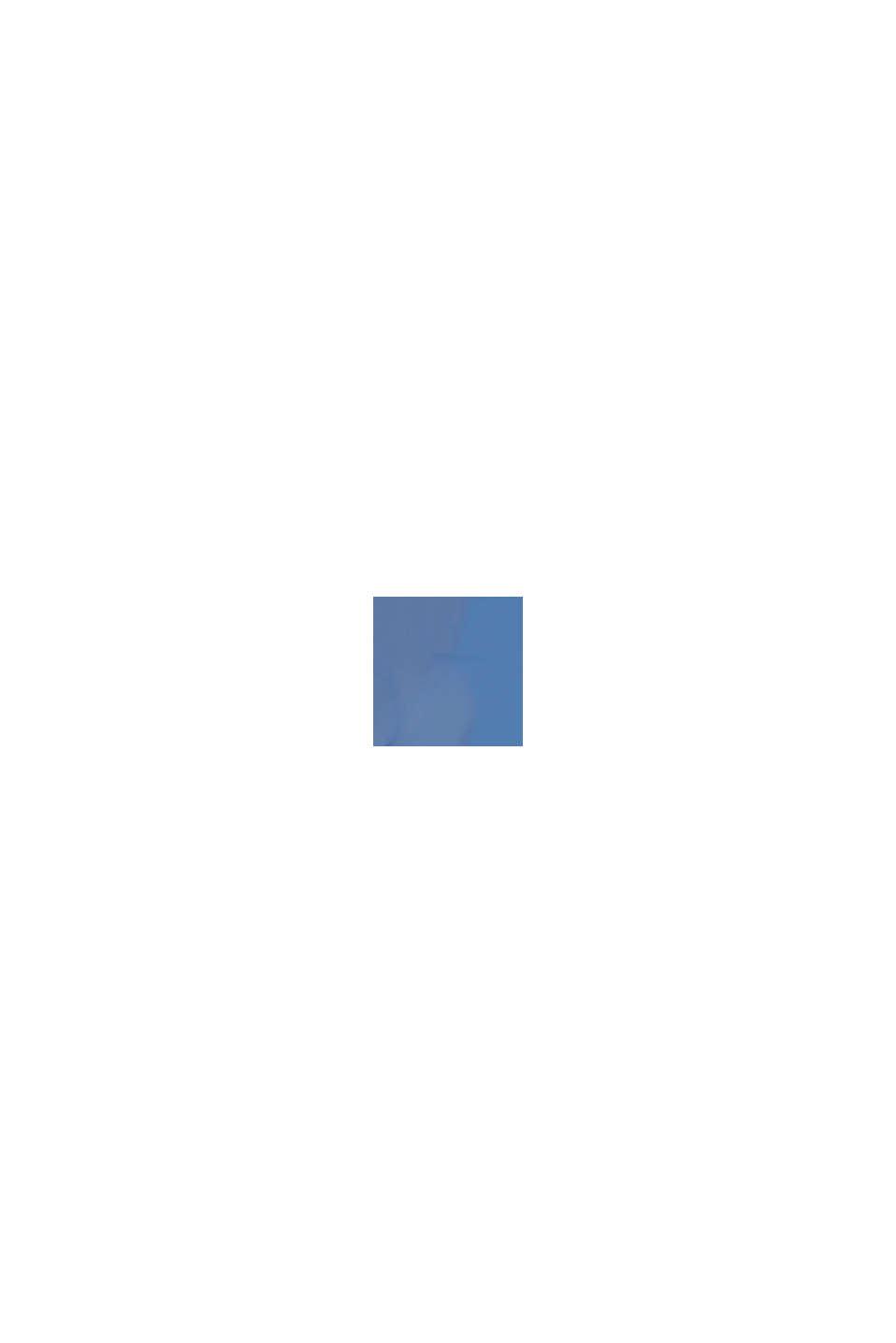 Occhiali da sole rettangolari in materiale misto, BLUE, swatch