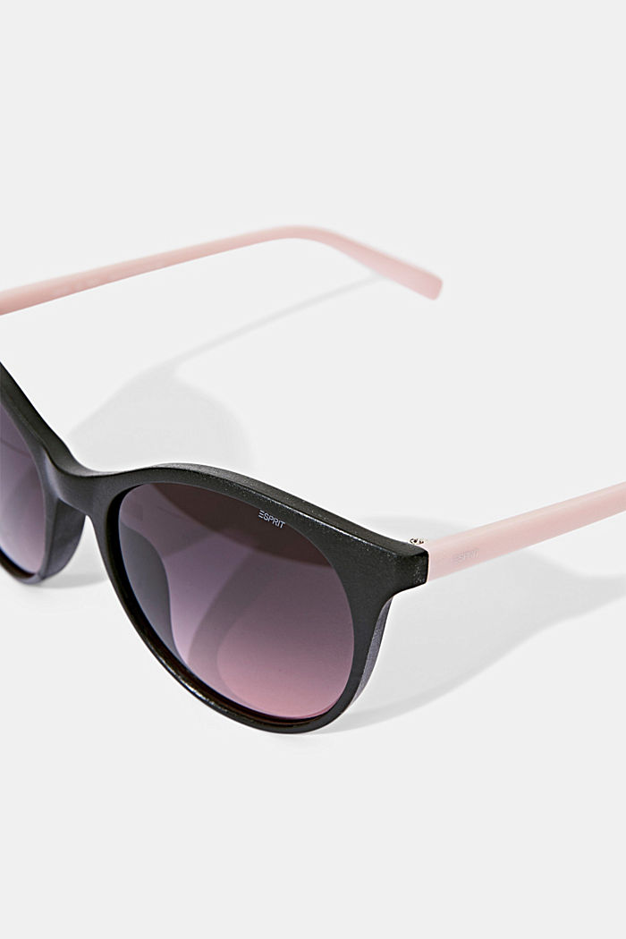 Recycelt: Runde ECOllection Sonnenbrille, ROSE, detail image number 1