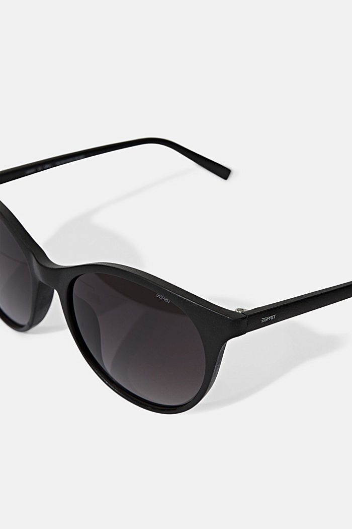 Recycled: round ECOllection sunglasses, BLACK, detail image number 1