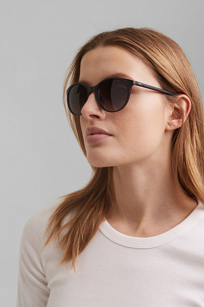 Recycled: round ECOllection sunglasses