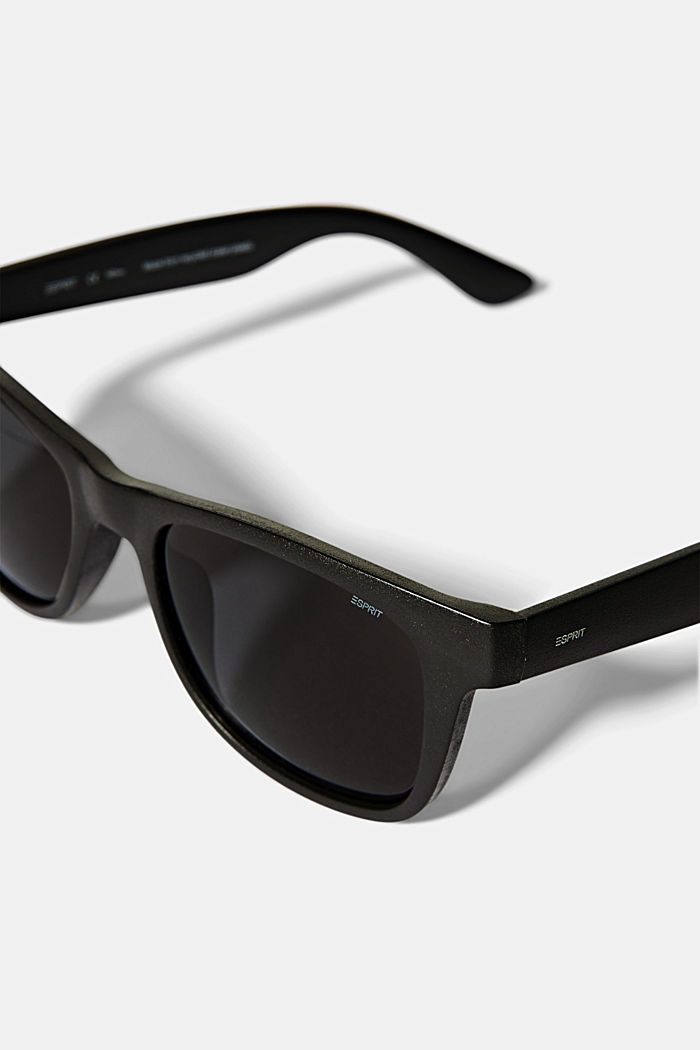 Recycled: ECOllection sunglasses, BLACK, detail image number 1