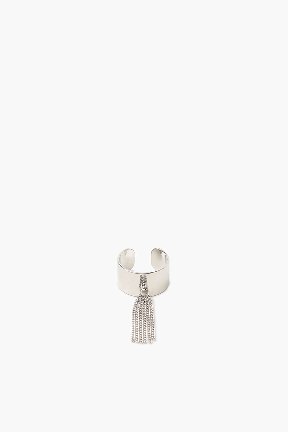 Esprit - Open ring with metal fringing