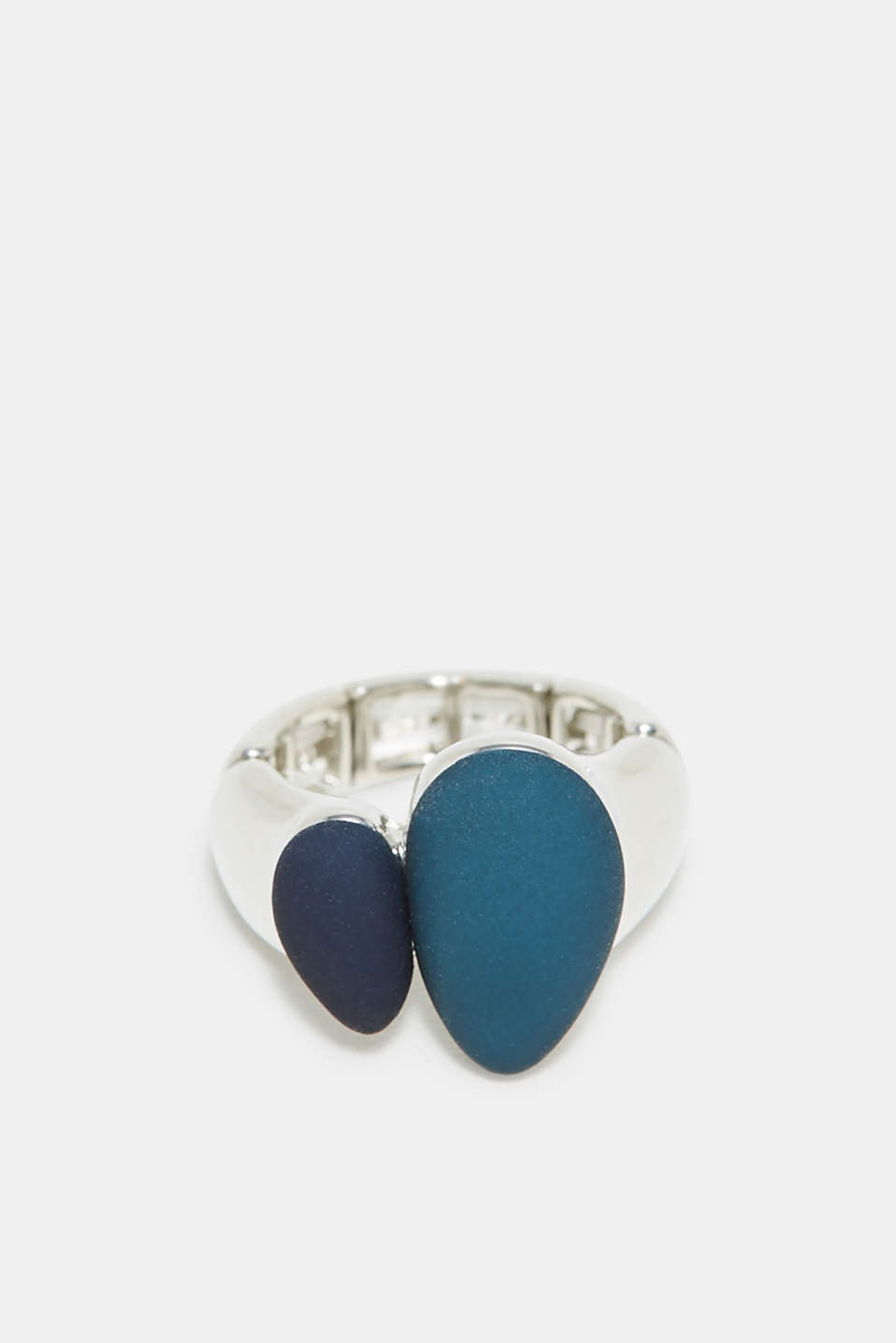 Esprit - Ring with teardrop-shaped gemstone
