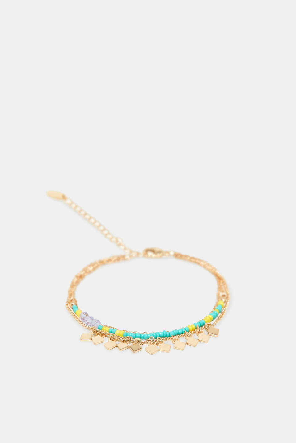 Esprit - Anklet with colourful little beads