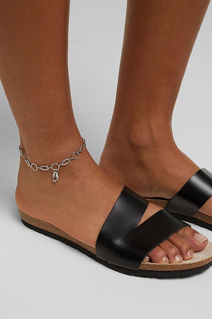 Metal anklet, SILVER, detail image number 2