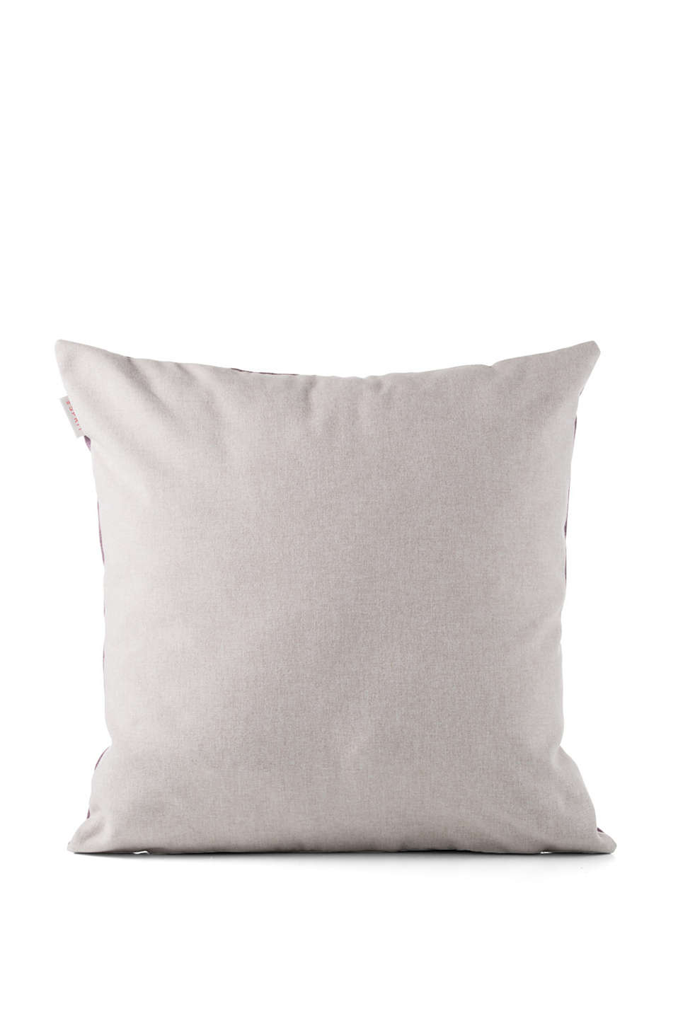 Soft reversible cushion cover
