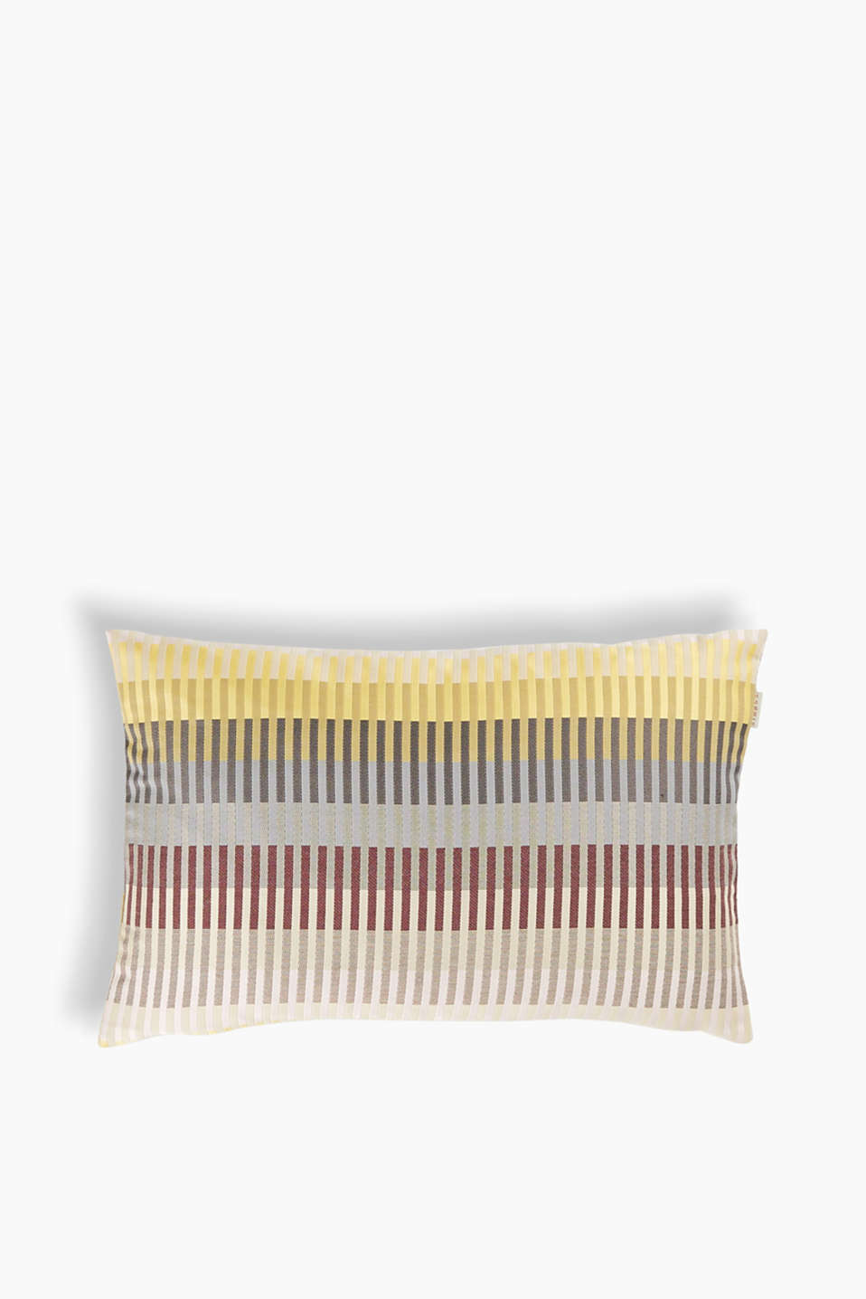 Esprit - Colourful cushion cover in jacquard fabric
