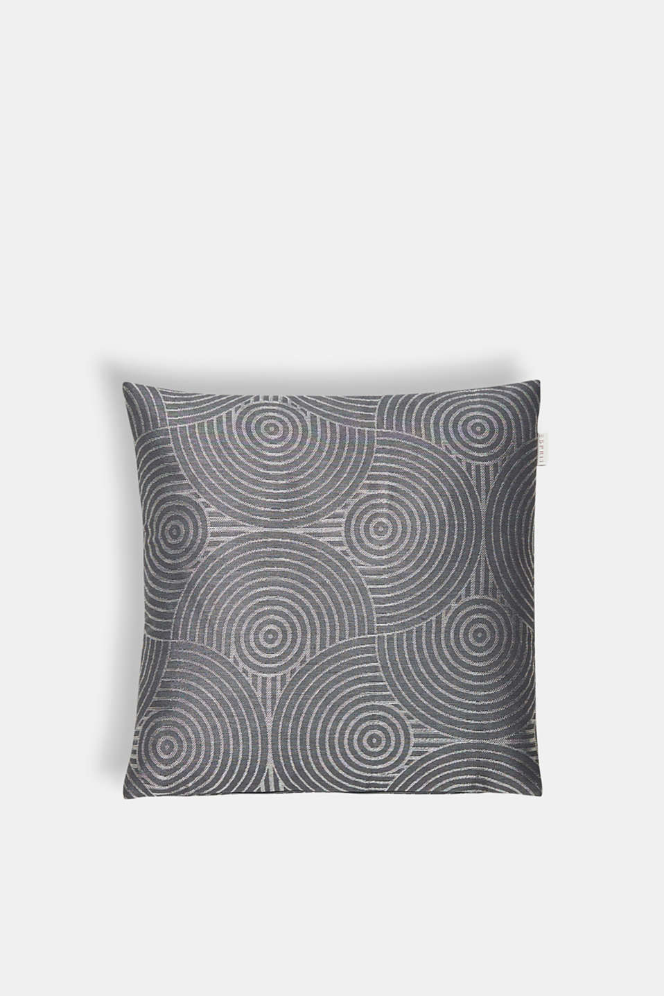 Esprit - Cushion cover with an interwoven metallic pattern