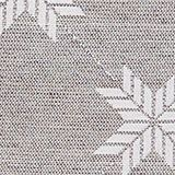 Cushion cover with a star motif, GREY, swatch