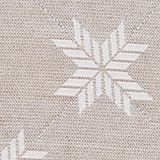 Cushion cover with a star motif, NATURE, swatch