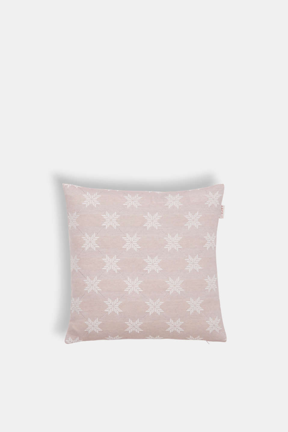 Cushion cover with a star motif, ROSE, detail image number 0