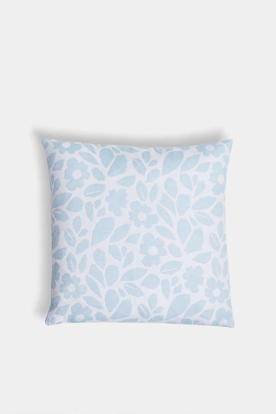 Esprit - Cushion cover with a floral pattern