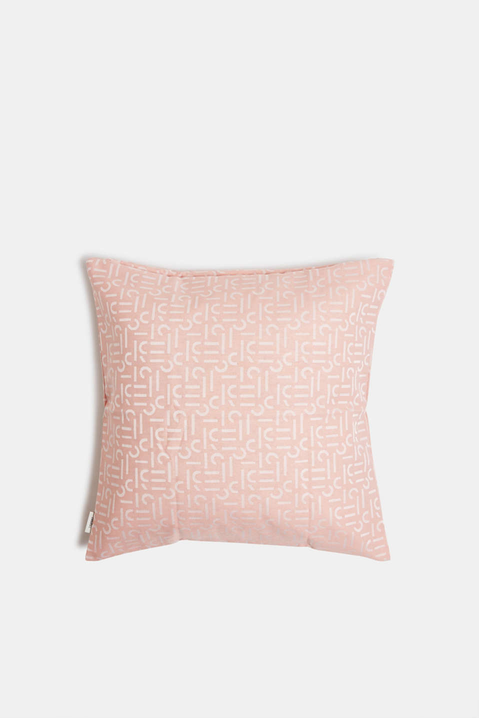 Cushion cover with a woven pattern, ROSE, detail image number 0