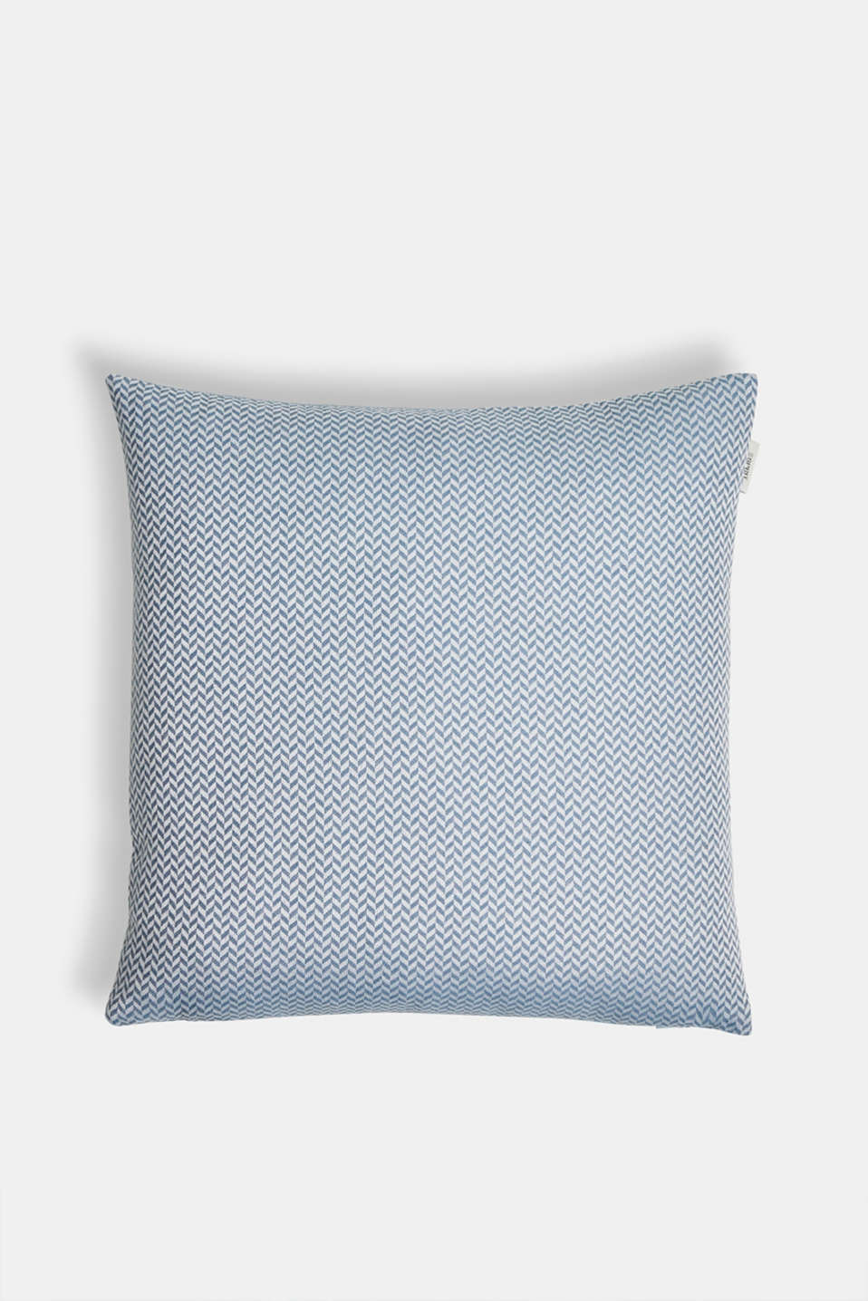 Esprit - Cushion cover with a herringbone texture