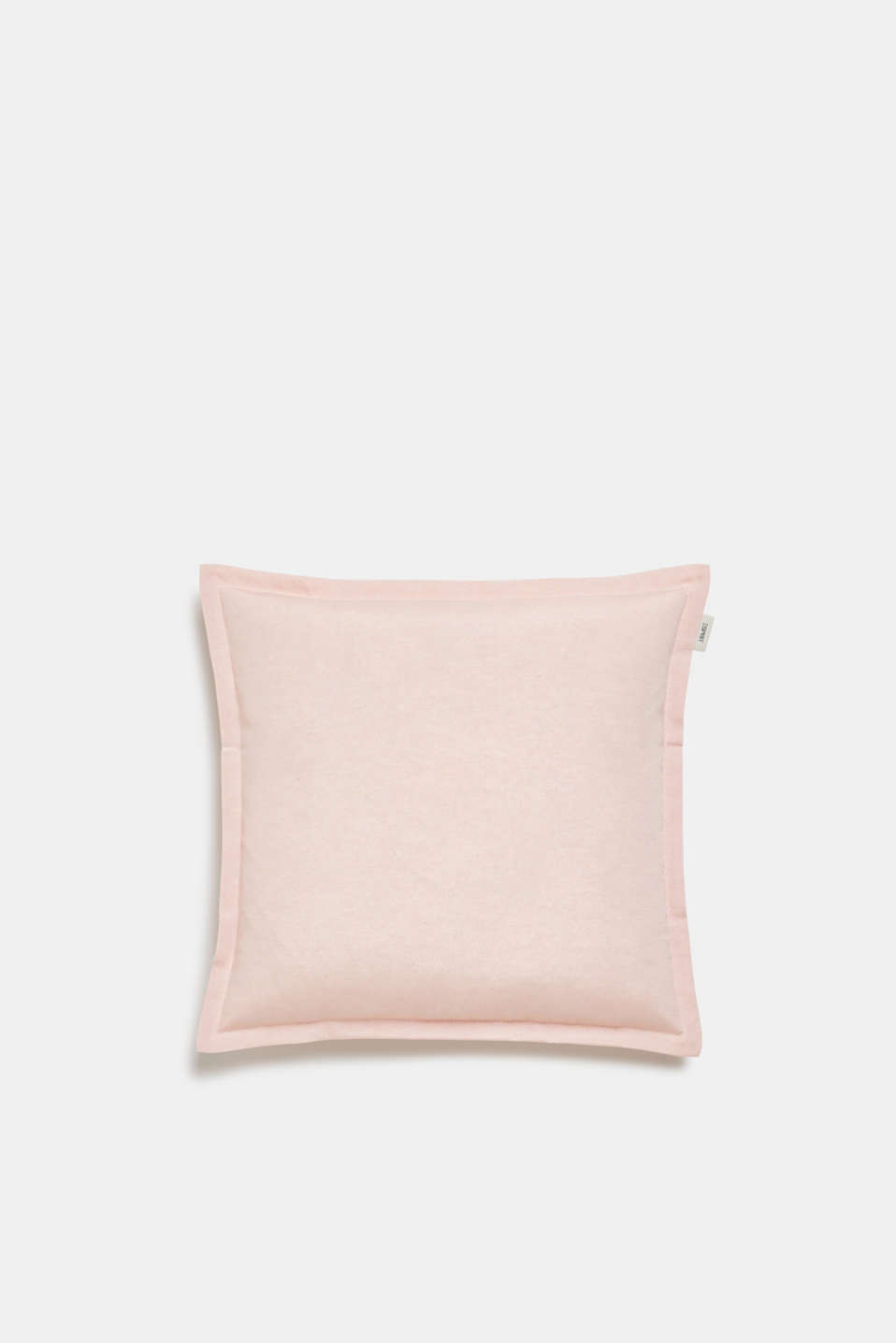 Cushion cover with tucked hem, ROSE, detail image number 0