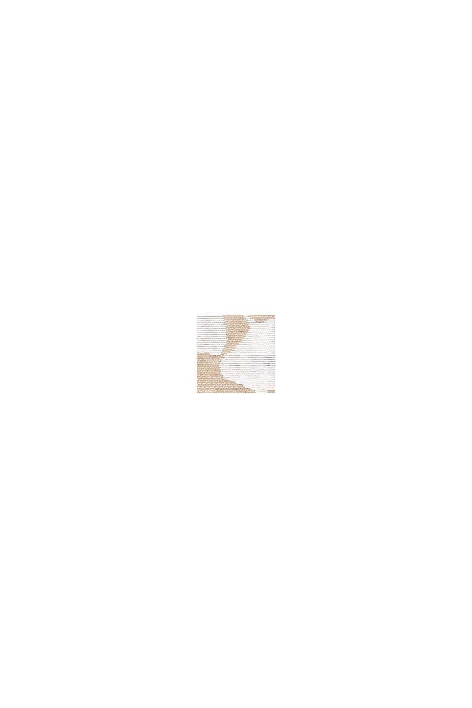 Kussenhoes met ginkgo-intarsia, CARAMEL, swatch