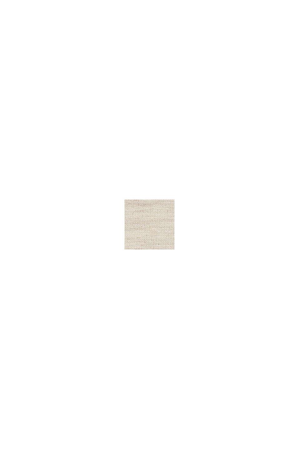 Recycelt: Kissenhülle mit Streifen aus Bouclé, NATURE, swatch