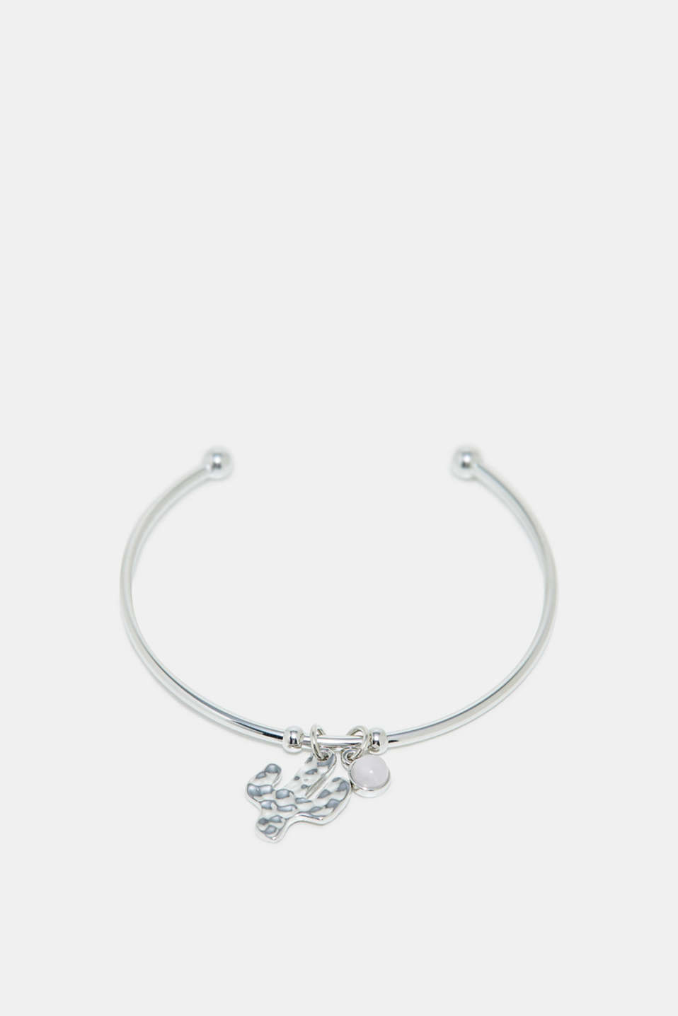 Esprit - Bangle with cactus pendant