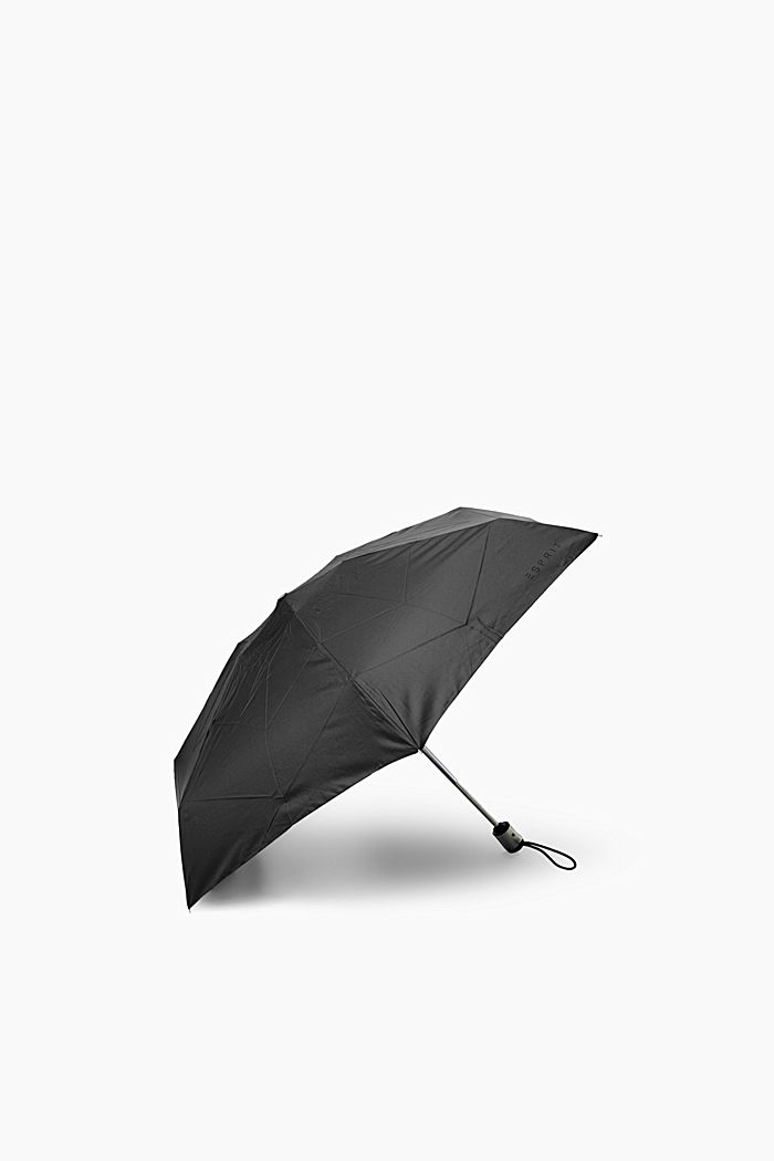 Mini pocket-size automatic umbrella, ONE COLOUR, detail image number 1