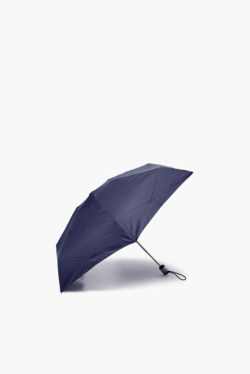 Mini pocket-size automatic umbrella, one colour, detail image number 1