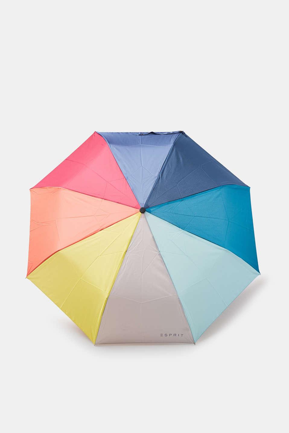 esprit regenschirm in regenbogen farben im online shop kaufen. Black Bedroom Furniture Sets. Home Design Ideas