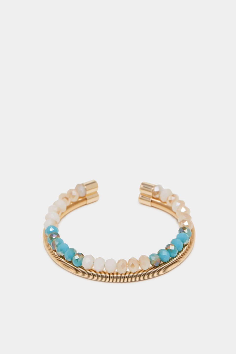 Esprit - Two-row bangle with gemstones