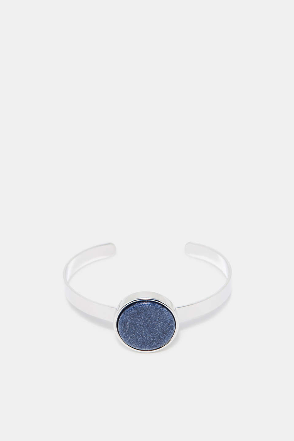 Esprit - Open bangle with a stone