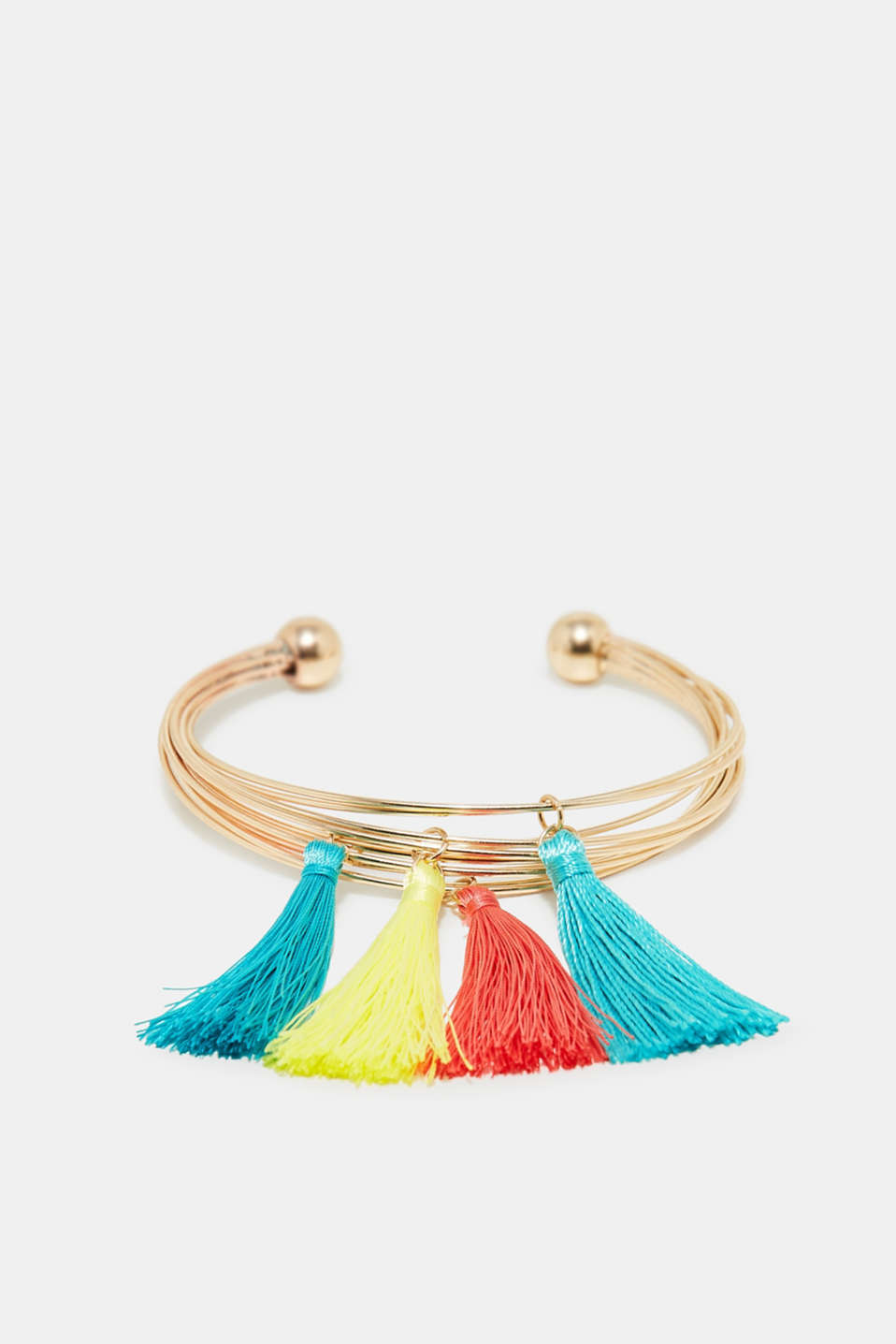 Esprit - Bangle with colourful tassels