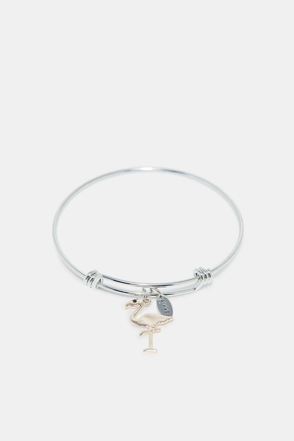 Esprit - Bangle with flamingo pendant
