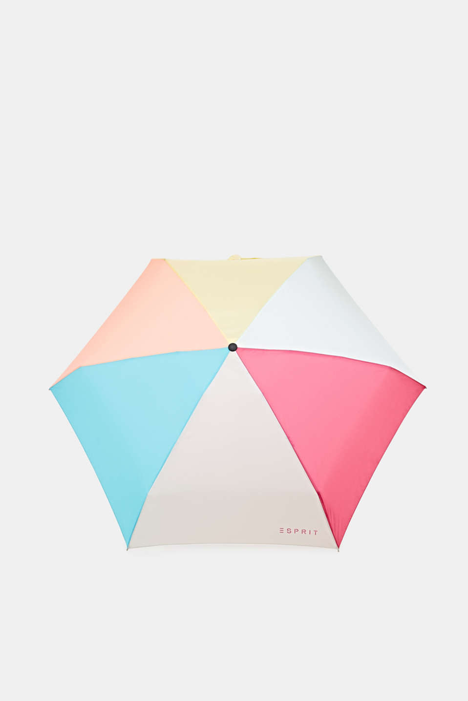 52166 Mini umbrella with bright colour fields, 1COLOR, detail image number 0