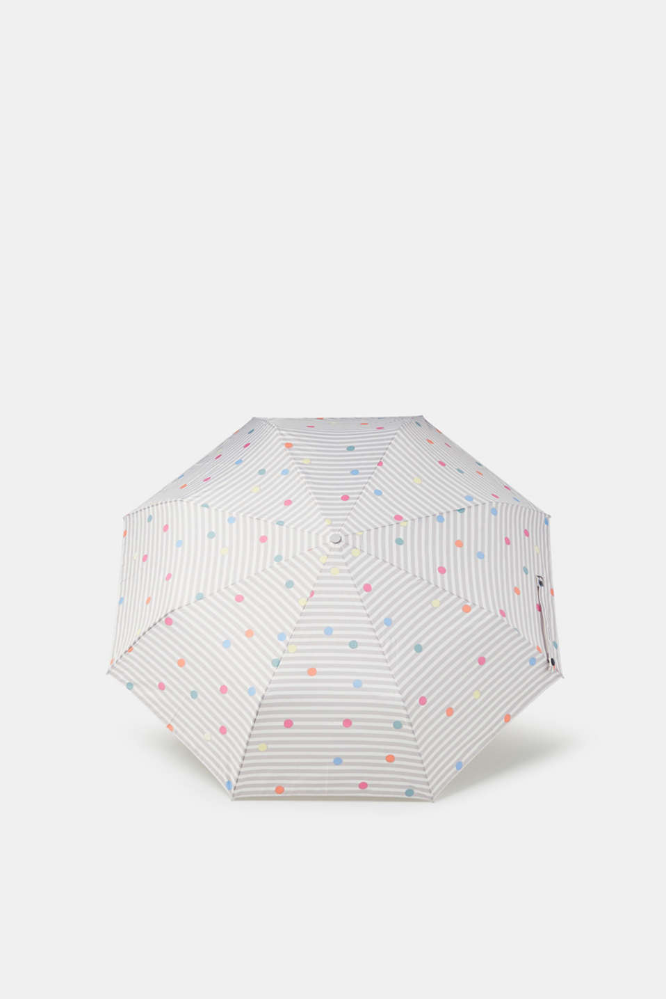 Esprit - Umbrella with a mix of patterns, in a handbag-sized design