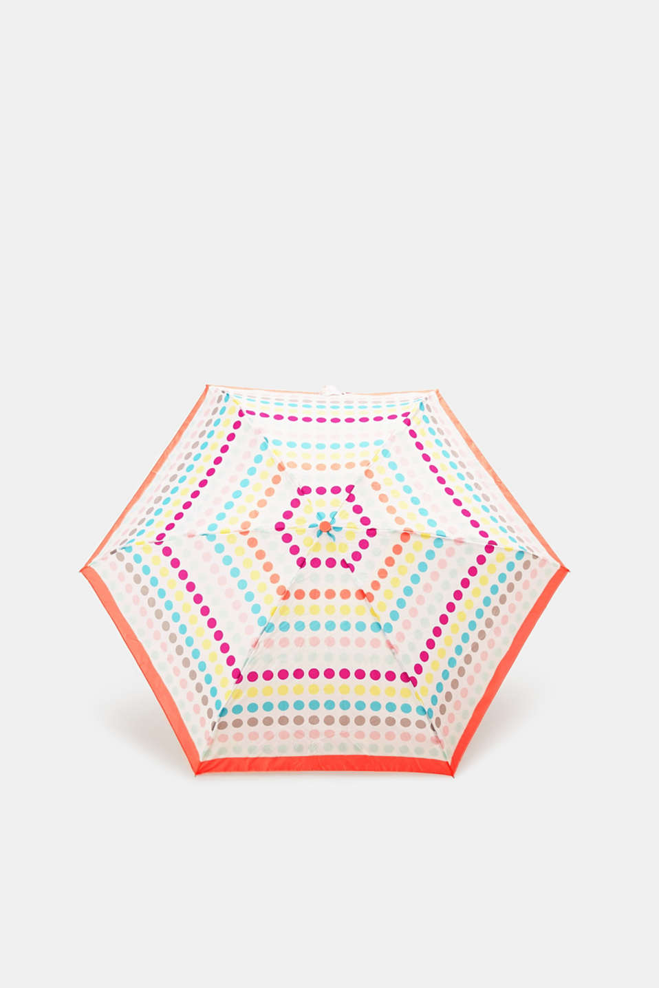 Esprit - Pocket umbrella with polka dots