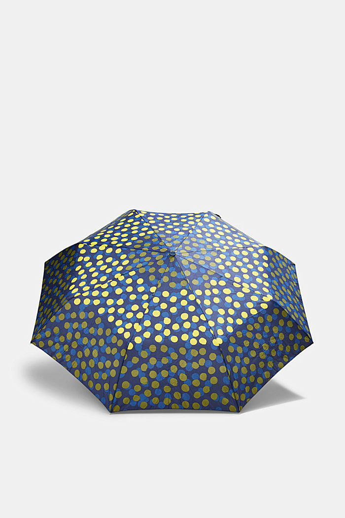 Lightweight umbrella with a polka dot pattern, ONE COLOUR, detail image number 0